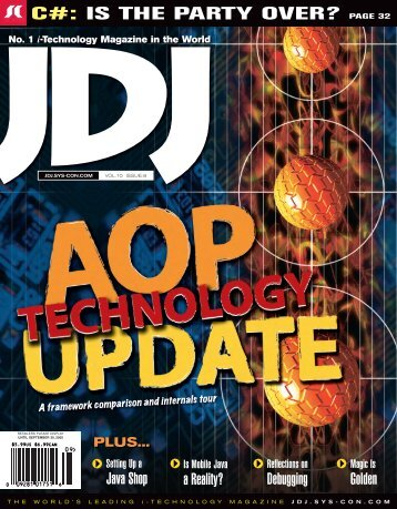JDJ 10-8.indd - sys-con.com's archive of magazines - SYS-CON Media
