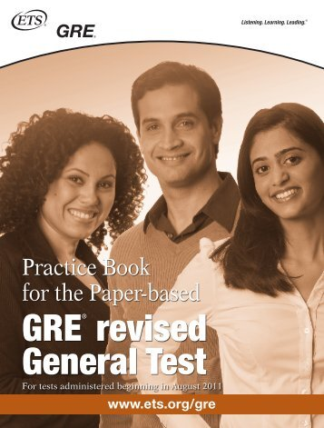GRE® revised General Test - Northern Illinois University