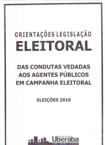 ELEITORAL - Prefeitura Municipal de Uberaba