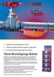 Easy Heat Vorst Beveiligings Kabel - Warmteservice