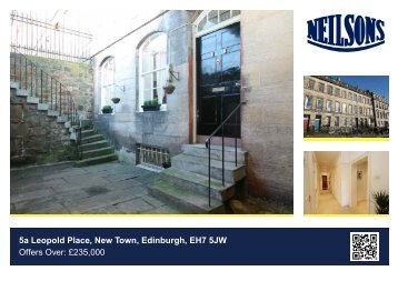 5a Leopold Place, New Town, Edinburgh, EH7 5JW Offers Over ...