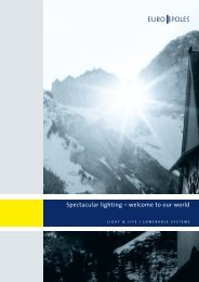Brochure lowerable lighting systems - Europoles