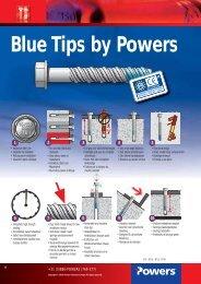 Blue Tips by Powers ETA-1 - bei Powers Europe