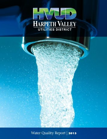 Water Quality Report | 2013 - Harpeth Valley Utilities District