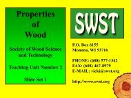 properties - Society of Wood Science and Technology