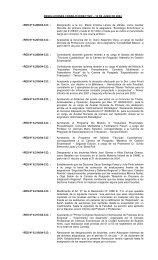 RESOLUCIONES CONSEJO DIRECTIVO – 10 DE JUNIO DE 2004 ...