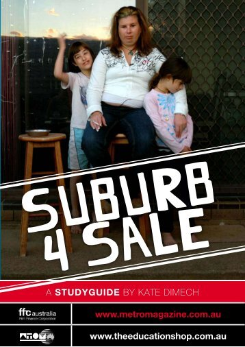 to dowload SUBURB 4 SALE study guide. - Ronin Films