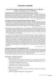 Monde romain-documents Internet - Editions Bréal