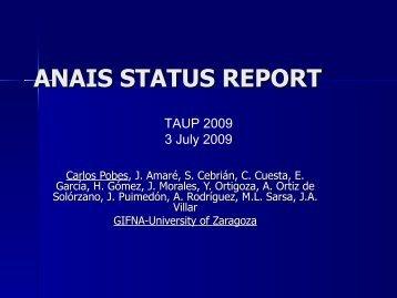 slides - TAUP 2009