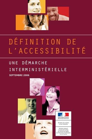 Guide Accessibilité DIPH - Ministère du Travail, de l'Emploi, de la ...