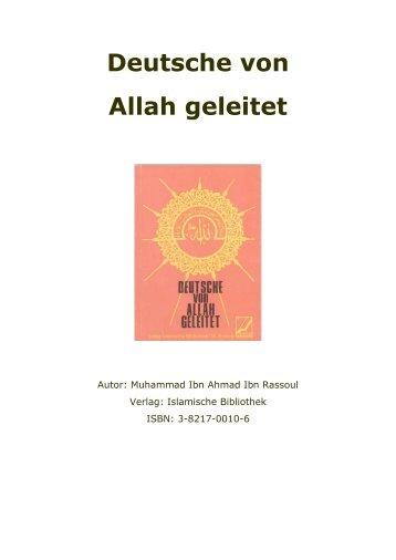 Deutsche von Allah geleitet - Way to Allah