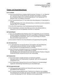 Finanz- und Haushaltsordnung des LTVT e.V.
