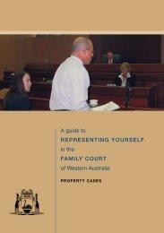 Handbook - Property Cases - Family Court of Western Australia