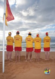 3 contents - Surf Life Saving - Sydney Northern Beaches