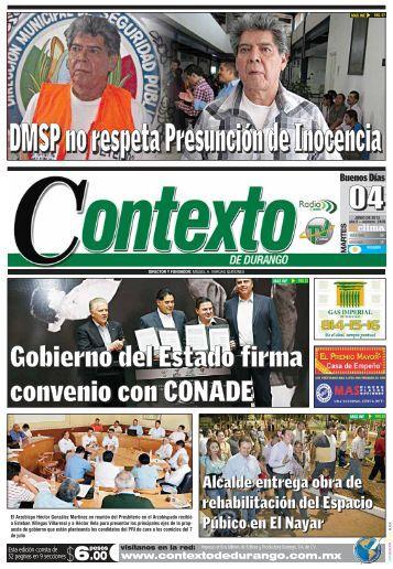 04/06/2013 - Contexto de Durango