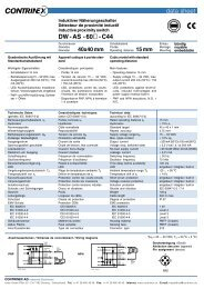 data sheet DW - AS - 60 - C44 - Imenista Andish Ltd. Industrial ...