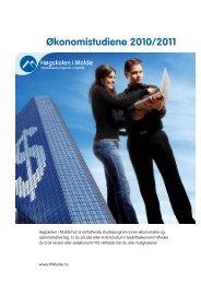 Økonomistudiene 2010/2011 - RFID ved Høgskolen i Molde