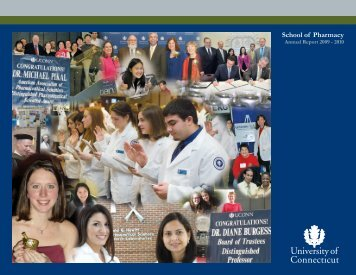 School of Pharmacy - Central Web Server 2 - University of Connecticut
