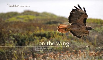 Annual Report, 2009 - 2010 - Audubon California - National ...