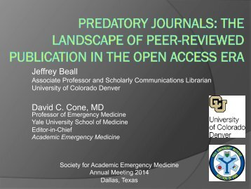 open-access-and-predatory-journals