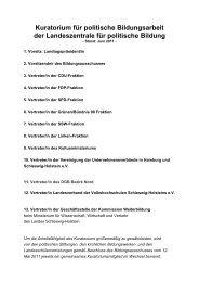 Zusammensetzung - Landeszentrale für politische Bildung ...