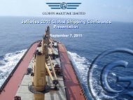 Jefferies 2011 Global Shipping Conference - Capital Link Shipping