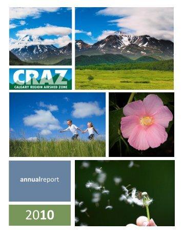 2010 CRAZ ANNUAL REPORT.pdf - Calgary Region Airshed Zone