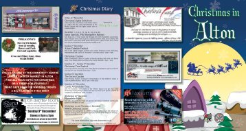 Christmas in - Alton Town Council