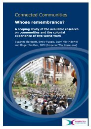 Whose remembrance discussion paper.docx - Imperial War Museum