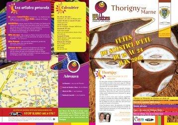 fêtes du soLstice d'été du 18 Au 24 juin 2012 - Communauté d ...