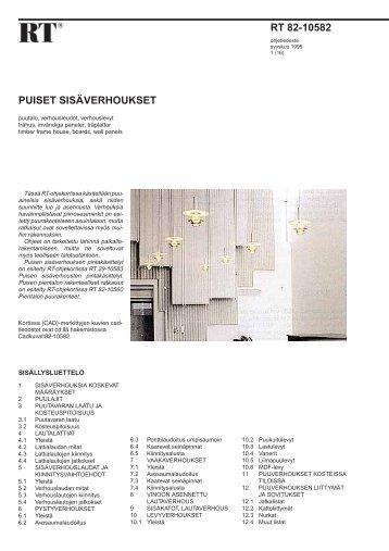 RT 82-10582 - Rakennustieto Oy