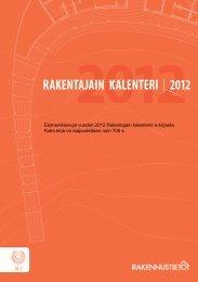Päivitys kesäkuu 2013 - Rakennustieto Oy