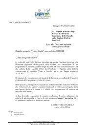 Fisco e Scuola - Direzione regionale Umbria - Agenzia delle Entrate