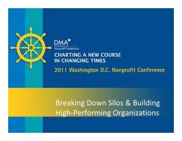 Breaking Down Silos & Building High-Performing Organizations