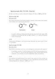 Spettroscopia IR, UV-VIS - Esercizi - ZyXEL NSA210