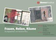Frauen, Rollen, Räume - Renner Institut