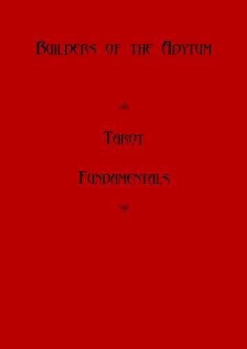 Builders of the Adytum