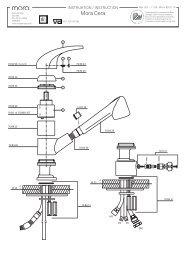 handleiding handleiding - Mora armatur (NL)