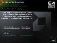 download - E4 HPC Workshop 2012