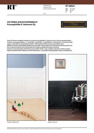 Lataa tuotekortti - Rakennustieto Oy