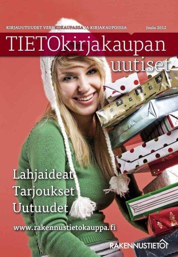 TIETOkirjakaupan talven 2012-13 tuoteluettelo - Rakennustieto Oy
