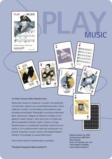PLAY MUSIC - Rakennustieto Oy