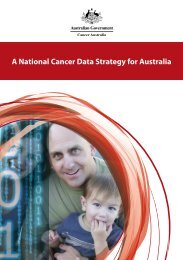 A National Cancer Data Strategy for Australia - Cancer Australia
