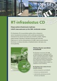 RT-infraselostus CD - Rakennustieto Oy