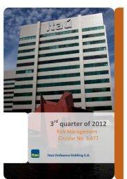 3 rd quarter of 2012 - Banco Itaú