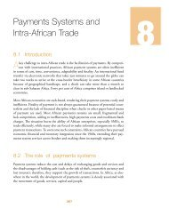 Chapter 8: Payments Systems and Intra-African Trade - MCLI