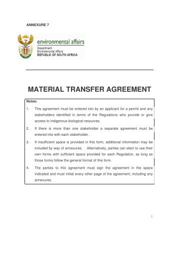 Embl Standard Material Transfer Agreement Mandegarfo