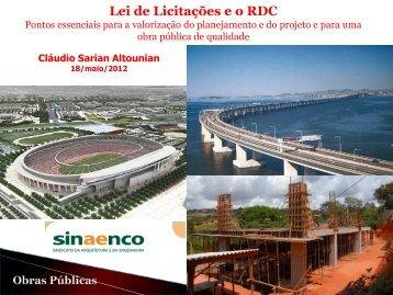 Cláudio Altounian - Sinaenco