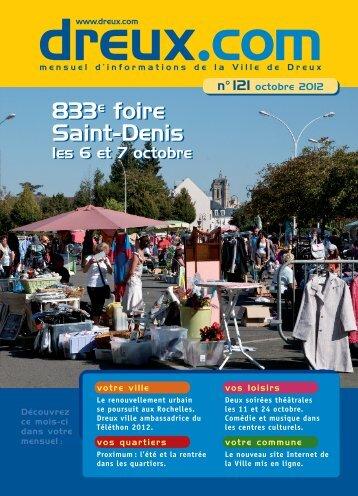 octobre 2012 - Dreux.com