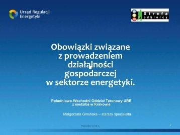 Obowiązki związane z prowadzeniem działalności gospodarczej w ...